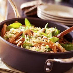 Snow Pea-and-Pork Fried Rice