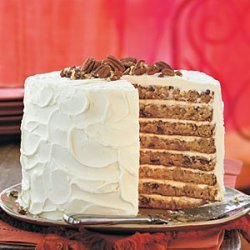 Mile-High White Chocolate Hummingbird Cake recipe