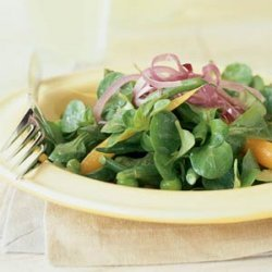 Mâche with Spring Vegetables and Lemon Vinaigrette
