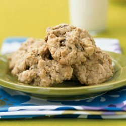 White Chocolate, Strawberry, and Oatmeal Cookies recipe