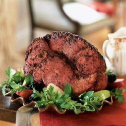 Blackberry-Mustard Glazed Ham recipe
