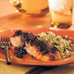 Cranberry-Glazed Salmon