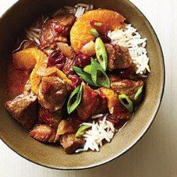 Orange-Cranberry Pork Stew