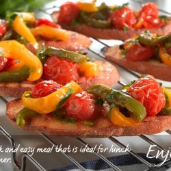Bruschetta with Peppers recipe