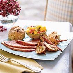 Brown Sugar and Spice-Crusted Ham recipe