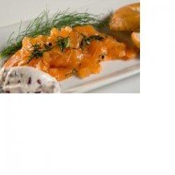 Simi Chardonnay Citrus Salmon Gravlax