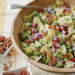 Broccoli, Grape, and Pasta Salad