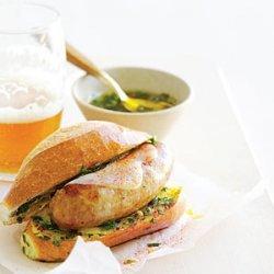 Argentine-Style Sausage Sandwiches