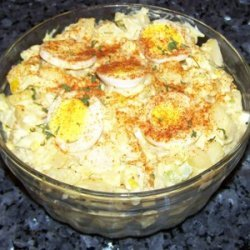 Perfectly Spicy Potato Salad recipe