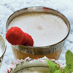 Chocolate-Raspberry Milk Punch