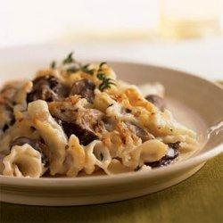 Mushroom Rigatoni Bake recipe