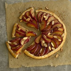 Rustic Plum-and-Almond Tart