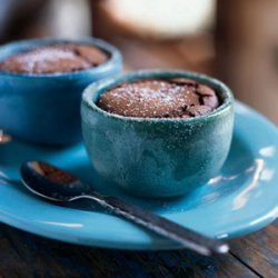 Mexican Chocolate Souffles