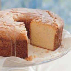 Sour Cream-Lemon Pound Cake