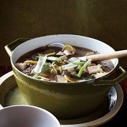 Korean-style Tofu, Vegetable, and Beef Stew
