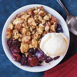 Cherry-Almond Crisp
