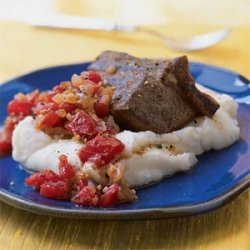 Balsamic-Braised Short Ribs with Horseradish Mashed Potatoes