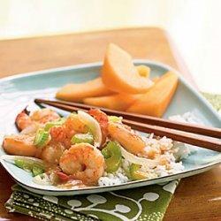 Stir-Fried Ginger Shrimp