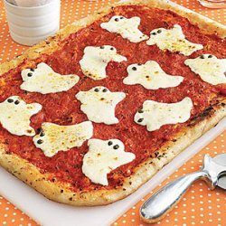 Ghostly Pizza recipe