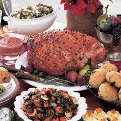 Baked Ham with Marmalade-Horseradish Glaze recipe