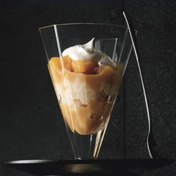 Rice Puddings with Caramel Gala Apples