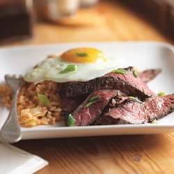 Steak and Eggs Korean Style