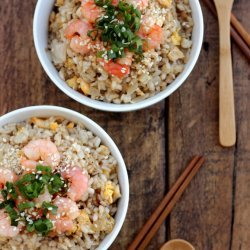 Shrimp Fried Rice with Ginger