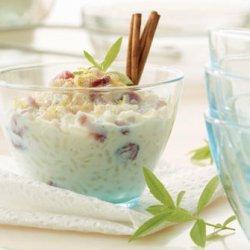 Maple-Lemon-Raisin Rice Pudding
