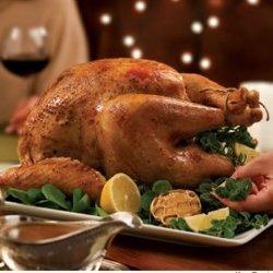 Roast Turkey with White Wine Gravy