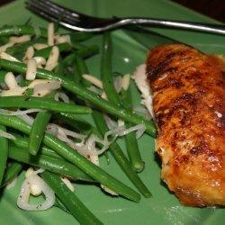 Haricots Verts with Almonds