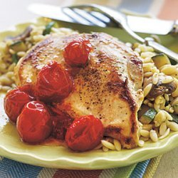 Chicken with Dried Tomato Sauce