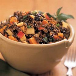 Sweet Potato-Wild Rice Salad recipe