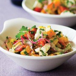 Tri-Pepper Salad