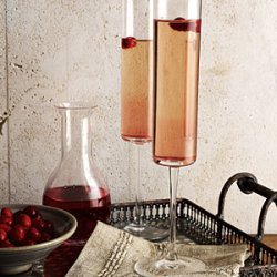 Cranberry Kir Royale