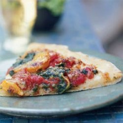 Pesto Pizza with Butternut Squash