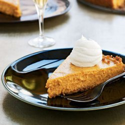 Vanilla-Bourbon Pumpkin Tart