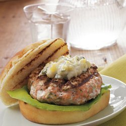 Chipotle Salmon Burgers recipe