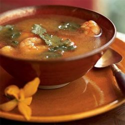 Sour and Spicy Shrimp Soup