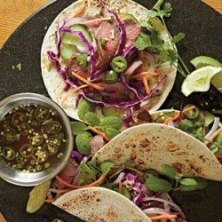 Vietnamese Barbecue Tacos recipe