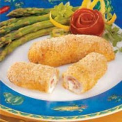Breaded Turkey Rolls