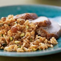 Spiced Brown Basmati Pilaf