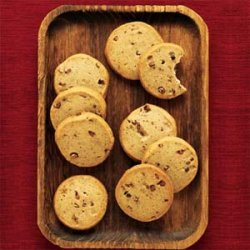 Espresso Shortbread Cookies recipe