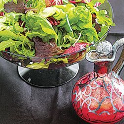Green Salad with Beet Vinaigrette recipe