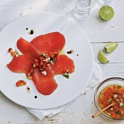 Tiradito of Tuna recipe