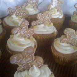 ~Drunken Gingerbread Men Cupcakes!
