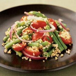 Walnut-Green Bean Salad
