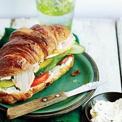 Turkey Croissant Sandwiches recipe