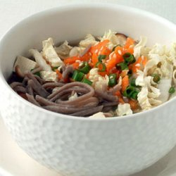 Soba Noodles with Miso Broth recipe