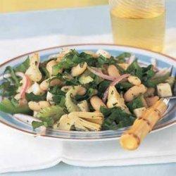 Italian White Bean-and-Artichoke Salad