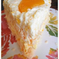Easter Orange Coconut Cake